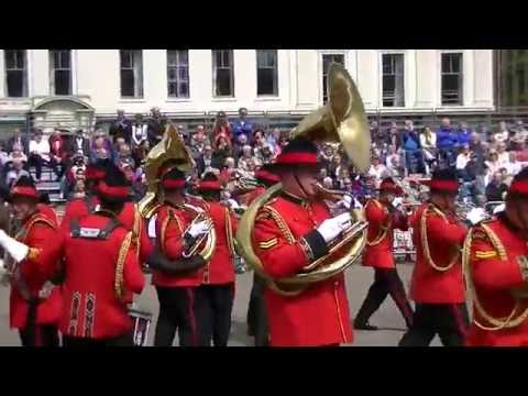 NEW ZEALAND ARMY MARCHING BAND 2016