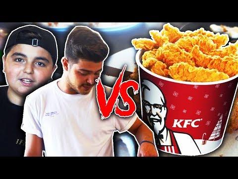 Abonnent lernt Kochen | Selfmade KFC Chicken Strips by Vassili