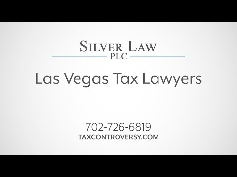 Las Vegas Tax Lawyers | Silver Law PLC