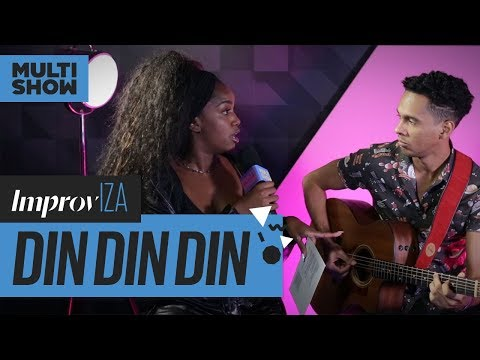 Din Din Din | Ludmilla (feat. Mc Pupio & Mc Doguinha) | ImprovIZA | IZA