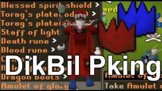 DikBil Pking *Pure and Runescape Dream/Goal ??* Red Partyhat