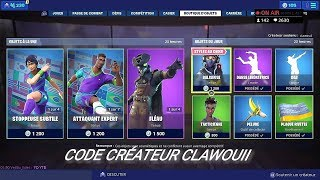 BOUTIQUE FORTNITE DU 10 JUILLET 2019 - FORTNITE ITEM SHOP JULY 10 2019 - NEW SKIN