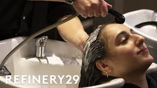 I Got Curly Hair Extensions For The First Time | Hair Me Out | Refinery29
