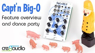 Captn'n Big-O - analog VCO introduction and feature overview