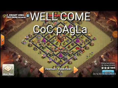 best war attack in coc..th10 base.must see coc player.