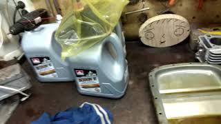 Полная замена масла АКПП GM e53 3 0i