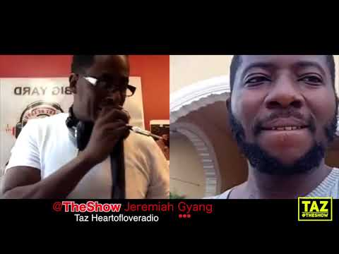 JEREMIAH GYANG INTERVIEW LIVE FROM NIGERIA  JUNE 3RD 2018