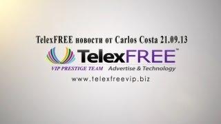 TelexFREE новости от Carlos Costa 21.09.13 - VIP PRESTIGE TEAM(, 2013-09-24T14:37:23.000Z)