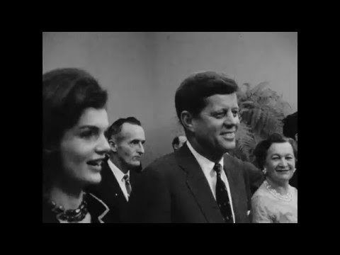 John F. Kennedy rallies the crowd in PRIMARY