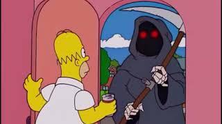 Homero mata ala muerte y se convierte en ella!!