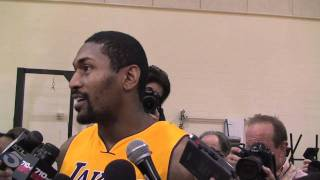 "Metta World Peace: ""If I showed you my abs right now, you"