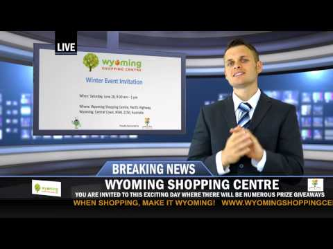 Breaking News for Wyoming Shopping Centre - Yummy Times Event