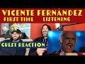 Vicente Fernández - Acá Entre Nos (En Vivo) first time reaction