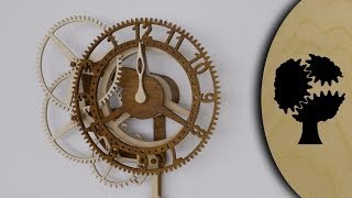 Rotara - Holzuhr (wooden Clock)