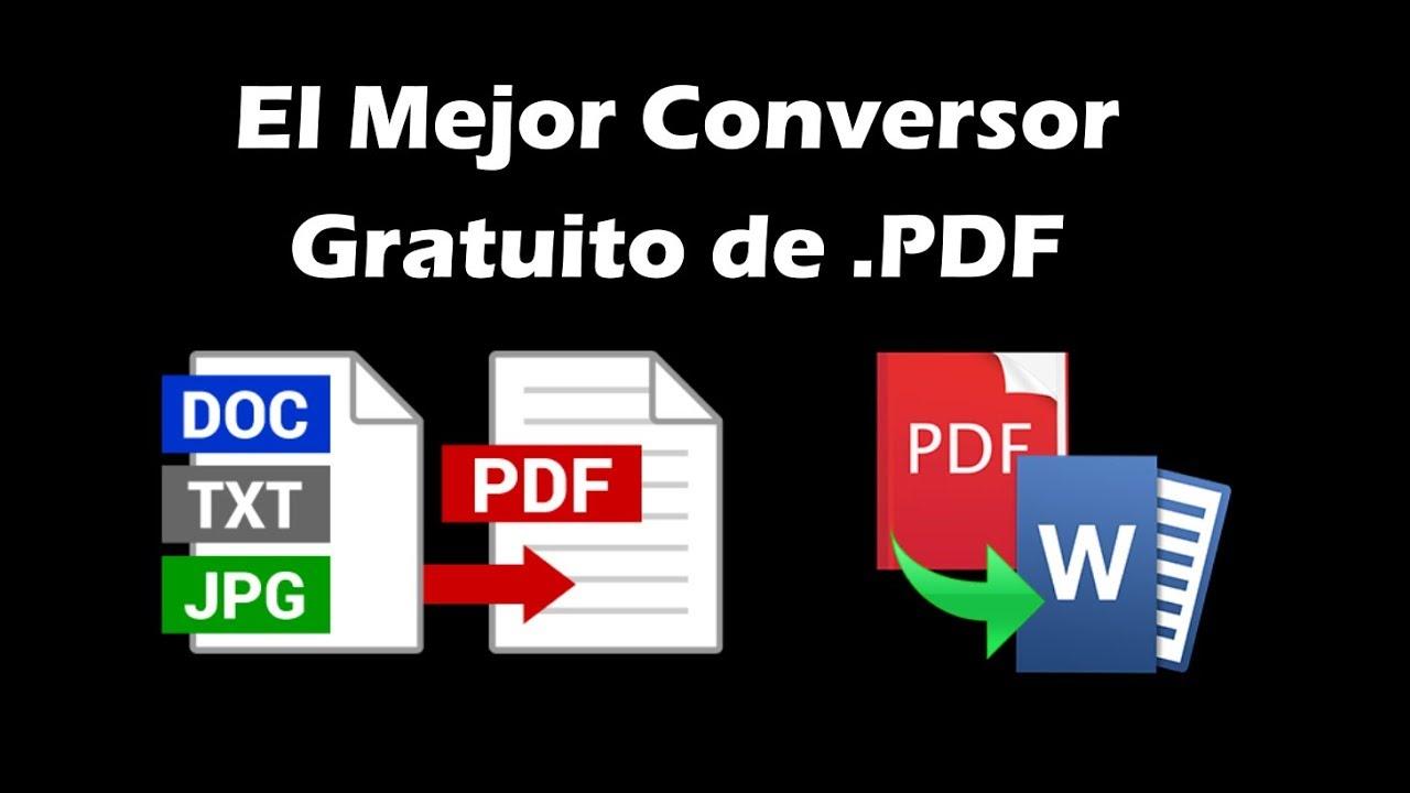 programa para pasar de pdf a word gratis para windows 7
