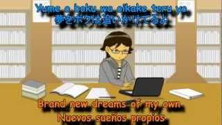 Hyadain - Ano hino boku e (Ft. Hiro Shimono) - Kanji - Romanji - English - Español