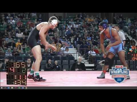 NAIA 2016 Championship 165 Blake Cooper
