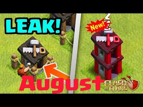 UPGRADE BUILDER HUTS! NEW August 2017 Update Leak! {HINDI}  Clash of Clans