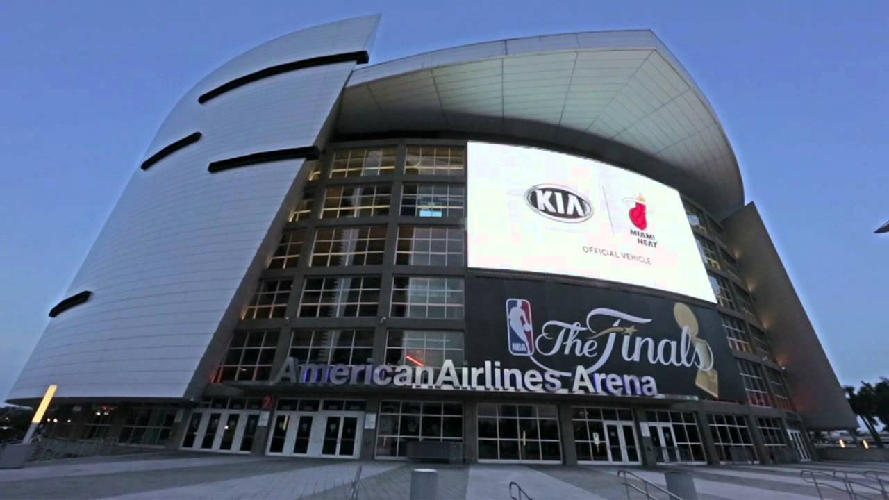American Airlines Arena Home Of 2012 Nba Champs Miami