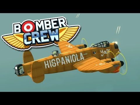 PUMPKIN SPICE LANCASTER BOMBER! Bomber Crew - FTL-like crew management gameplay