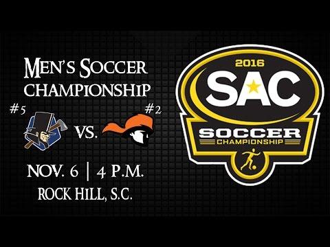 2016 SAC Men's Soccer Championship - #2 Tusculum vs. #5 Lincoln Memorial