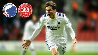 ROBERT SKOV • Stunning Shots • FC Copenhagen • Goals & Skills