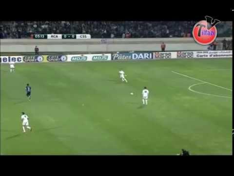 1ere Mi Temps Club Sportif Sfaxien vs Raja Casablanca RCA 1-1 CSS الرجاء و صفاقس التونسي الشوط الأول