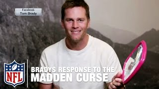 Tom Brady Responds to the 'Madden Curse' | NFL