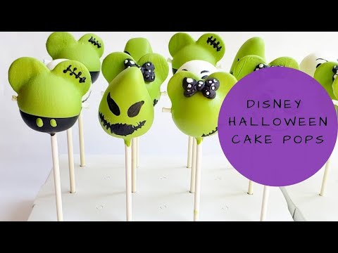 Halloween Mickey, Minnie, Boogie Cake pops