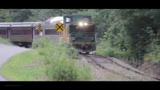 Winnipesaukee Scenic Railroad - Caboose Forward