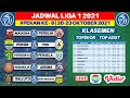 Jadwal Liga 1 2021 Pekan ke 8 - Persib vs PSS - Persebaya vs Persela - Live Indosiar