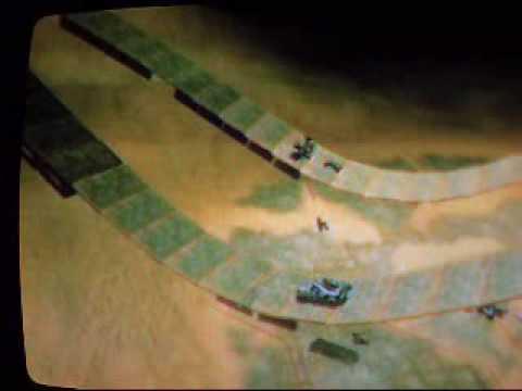 Halo 3 Sandbox racetrack: Dune Drifter (pure hell)