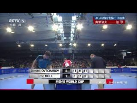 2014 Men's World Cup (ms-qf) OVTCHAROV Dimitrij - BOLL Timo [HD @1080p] [Full Match/Chines