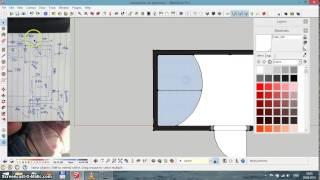 Sketchup уроки - часть 2   ставим мебель