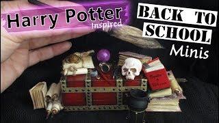 Harry Potter Miniatures, Hogwarts School Supplies    Maive Ferrando