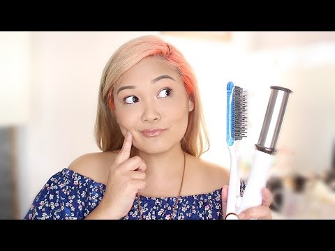 Instyler Wet to Dry Max 2 Way Rotating Iron First Impression + Review