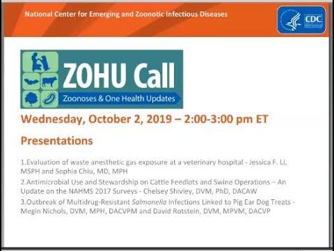 CDC ZOHU Call October 2, 2019 thumbnail