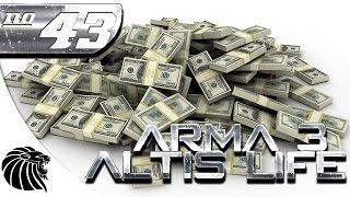 ArmA 3 Altis Life - 500 MILHOOOOOOOOOOOOOES - Temporada 4 / #43