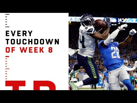 Every Touchdown from Week 8 | NFL 2018 Highlights
