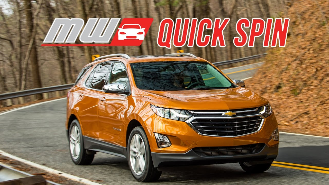 Quick Spin: 2018 Chevrolet Equinox - YouTube