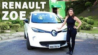 Renault Zoe, o elétrico mais barato do Brasil em detalhes