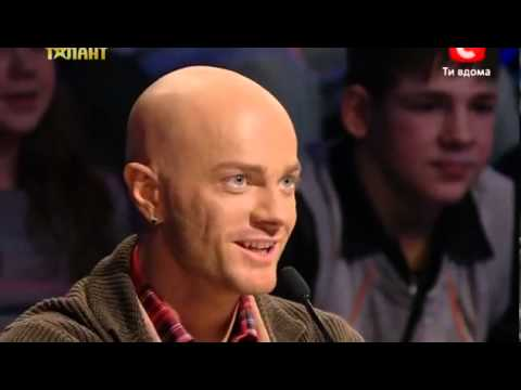 Amazing performance in Ukraine's got talent