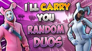 Fortnite Best Nintendo Switch Player! Random Duos With a Mic/  1290 Wins
