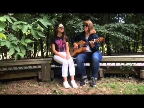 Kseniya Pukhnarevich and Yana Efremova-Crazy in love (cover by Beyonce)