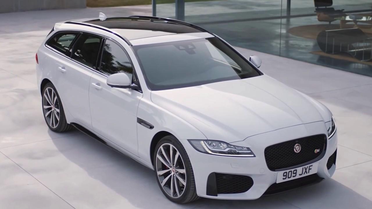 Jaguar XF Sportbrake 2017 Interior and exterior