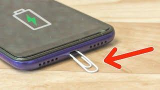 10 Новых лайфхаков для телефона