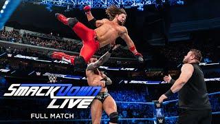 FULL MATCH - Styles, Orton & Nakamura vs. Owens, Zayn & Mahal: SmackDown LIVE, Dec. 19, 2017