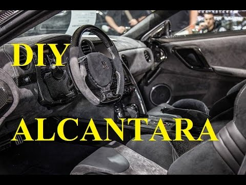 How to wrap your center console in Alcantara BRZ FRS GT86