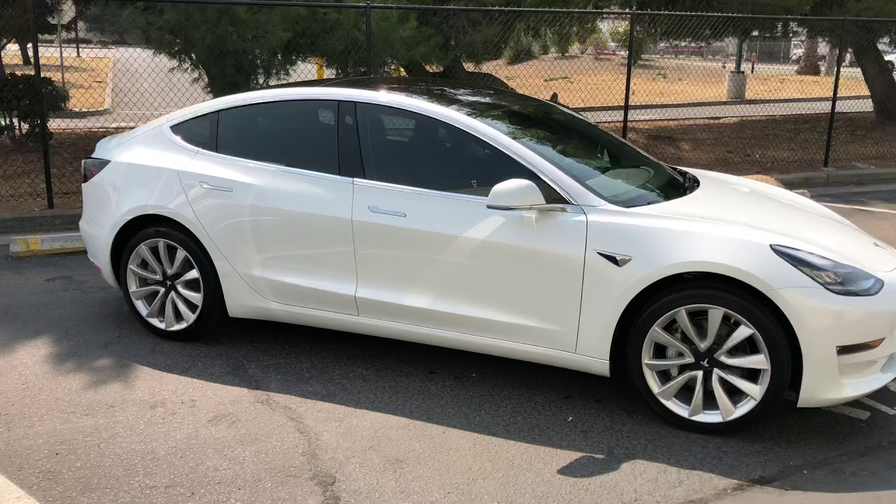 Tesla Model 3 Window Tint