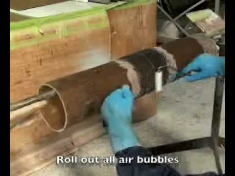 Armatec Fibreglass Pipe Jointing mp4